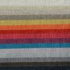 Salotto Ines di produzione artigianale composto da: divano 3 posti, elemento 2/3 posti, terminale e pouf. Anche su misura. Realizzabile su tessuti indicati dal cliente.