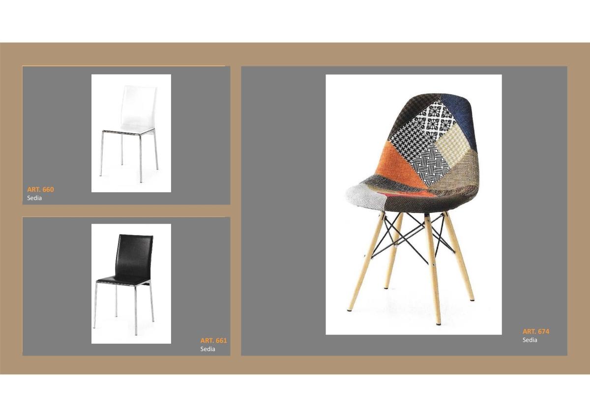 Sedie A Poltroncina.Set Sedie In Stile Moderno Bianco E Nero E Sedia Poltroncina In Tessuto