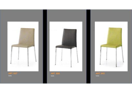 Coppia di sedie Linea Monteriggioni 55 in 3 modelli diversi