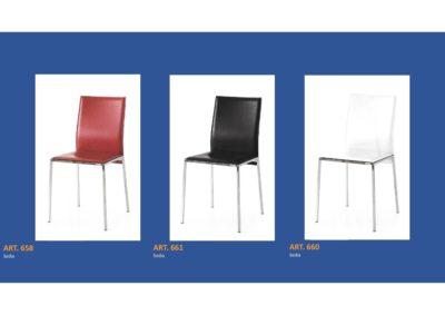 Coppia di sedie Linea Monteriggioni 57 in 3 modelli diversi