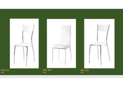 Coppia di sedie Linea Monteriggioni 59 in 3 modelli diversi