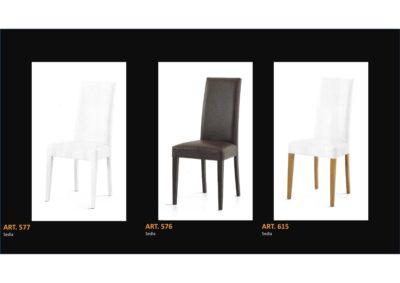 Coppia di sedie Linea Monteriggioni 60 in 3 modelli diversi