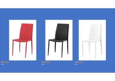 Coppia di sedie Linea Monteriggioni 61 in 3 modelli diversi