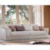 Salotto Astrid di produzione artigianale composto da: divano 2/3/4 posti e poltrona. Anche su misura. Realizzabile su tessuti indicati dal cliente.