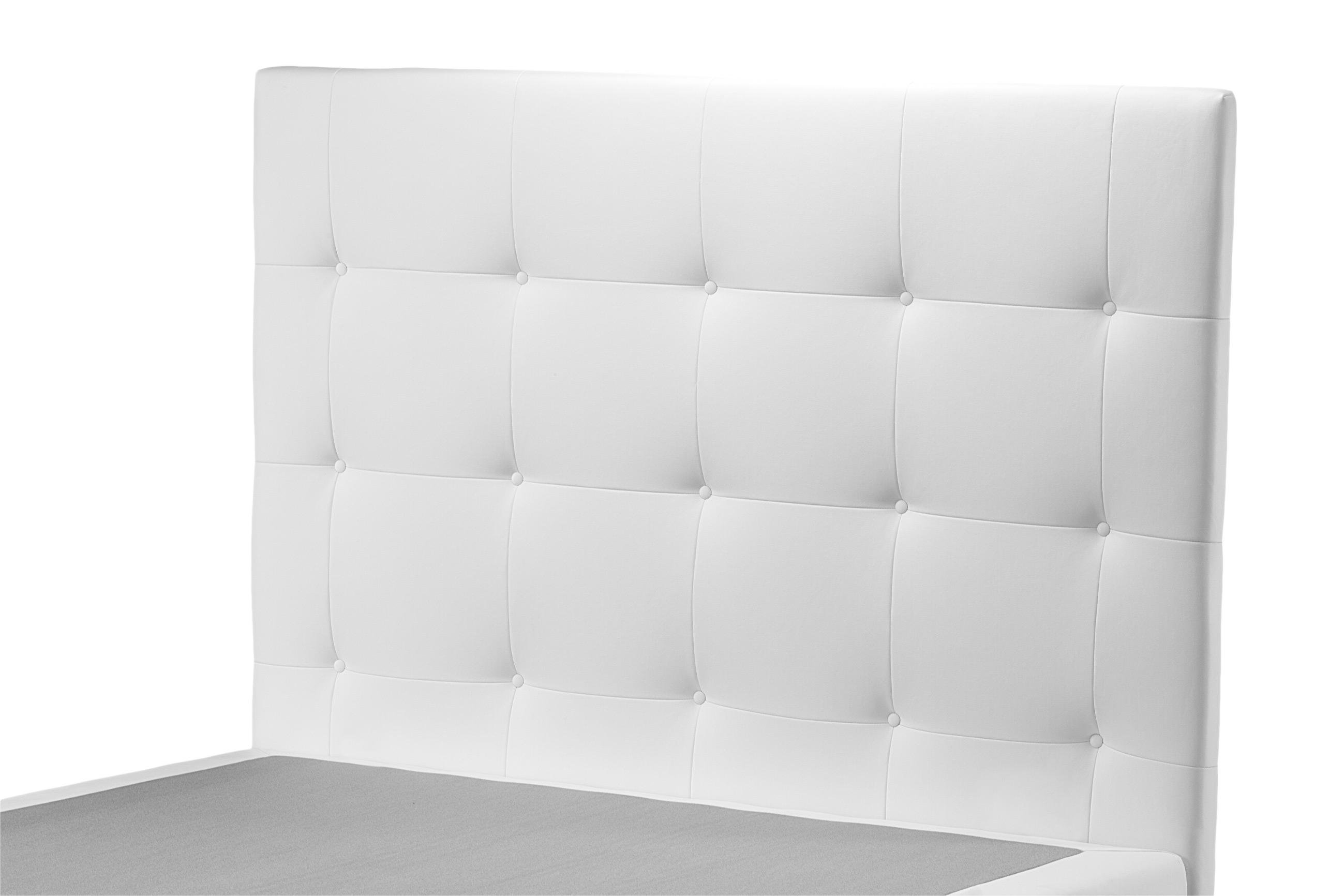 Testiera Per Letto Singolo : Testiera per letto singolo lusso donatello h 94 106 cm ecopelle