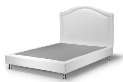 Testiera per letto 1 piazza e mezzo Lusso GIOTTO H 94/106 CM Ecopelle