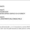 Materasso 1 piazza e mezzo Extra Lusso 24 A1 H CM 24 certificato ignifugo per alberghi hotel comunità