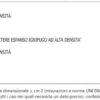 Materasso 1 piazza e mezzo Lusso 16 A H CM 16 certificato ignifugo per alberghi hotel comunità
