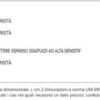 Materasso 1 piazza e mezzo Extra Lusso 24 A2 H CM 24 certificato ignifugo per alberghi hotel comunità
